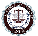 American Society of Legal Advocates - Top 100 - 7 time member